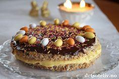 En helt herlig kake som anbefales til helgen! Norwegian Food, Norwegian Recipes, Baking Recipes, Cake Recipes, Tiramisu, Cheesecake, Chocolate, Breakfast, Ethnic Recipes