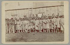 Скауты Апачи Сан Карлос в униформе