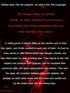Wrath brothers bdb black dagger brotherhood lover avenged