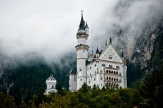 Fog Shroud, Castle Neuschwanstein, Germany