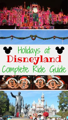 Holidays at Disneyland: Three Special Rides Bring Christmas Wonder & Cheer - Headed to Disneyland for the winter holiday season? Find out what special attractions to ride this year.