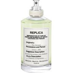MAISON MARGIELA Replica Tea Escape eau de toilette 100ml (360 BRL) ❤ liked on Polyvore featuring beauty products, fragrance, fillers, perfume, makeup, beauty, eau de toilette perfume, green tea fragrance, eau de toilette fragrance and maison margiela