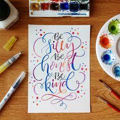 Happy october!! #watercolour and #zigkuretake clean color and waterbrush  #handlettering #brushcalligraphy #lettering #sketchbook #doodle #flourish #typography #thedailytype #goodtype #ligaturecollective #typespire #typegang #handmadefont #handwritten #artoftype #handlettered #calligraphy #moderncalligraphy #calligrabasics #designedbyruchika #ruchikassketchbook #togetherweletter #letteringco #50words #slowroastedco #simplealphabets #typism #watercolorlettering