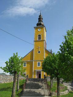 Mrkopalj Croatia | Church BDM žalosne in Mrkopalj