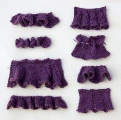 How to knit Ruffles | CraftIdeaPin.com