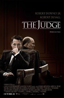 The Judge - Drama  -  10 October 2014 - Big city lawyer Hank Palmer returns to his childhood home where his father, the town's judge, is suspected of murder. Hank sets out to discover the truth and, along the way, reconnects with his estranged family. Stars: Robert Downey Jr., Robert Duvall, Vera Farmiga