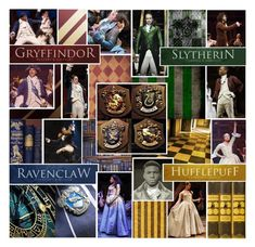 The Hamilton Hogwarts Houses by taylormanson on Polyvore featuring polyvore and art