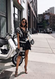 65 Summer Dresses to Shop Now Dope Fashion, Runway Fashion, High Fashion, Womens Fashion, Fashion Fall, Latest Outfits, Trendy Outfits, Fashion Outfits, Outfit Semi Formal