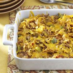 Beef Noodle Casserole Recipe from Taste of Home