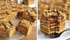 Czech Desserts, Sweet Desserts, Sweet Recipes, Delicious Desserts, Yummy Food, Cake Filling Recipes, Fudge Recipes, Dessert Recipes, Slovak Recipes