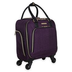 Make your travels more thrilling with the Aimee Kestenberg Florence Underseater Spinner. Modern and lightweight, with a durable construction plus 4 spinner wheels, this bag is ready to withstand your adventures and makes getting around easy. Rolling Laptop Bag, Travel Essentials For Women, Laptop Tote Bag, Plus 4, Cosplay Costumes, Florence, Wheels, Bags, Construction