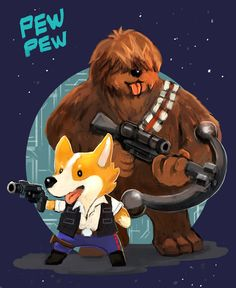 Han & Chewie Pew Pew!