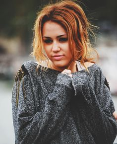 Miley..i love her like this :)