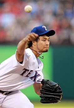 MLB: Yu Darvish 10-K night  Yankees 0 (10-7, 6-4 away) Rangers 2 (14-4, 6-3 home) FINAL  Top Performer- Y. Darvish, TEX: 8.1 IP, W,  7 H, 0 ER, 10 K  keepinitrealsports.tumblr.com  keepinitrealsports.wordpress.com