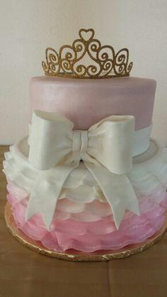 Princess Baby Shower Cake By Tasty Goodness Cakes