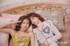 Jennie and Lisa