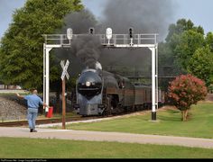 RailPictures.Net Photo: NW 611 Norfolk & Western Steam 4-8-4 at Spencer, North Carolina by Khalil Poole