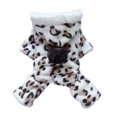 Adorable Leopard Dog Coat for Dog Hoodie Dog Clothes Soft Cozy Pet Clothes,S - http://www.thepuppy.org/adorable-leopard-dog-coat-for-dog-hoodie-dog-clothes-soft-cozy-pet-clothess/