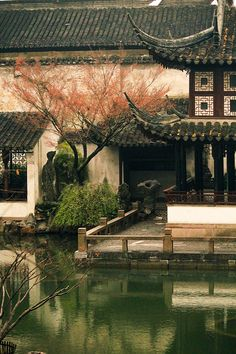 "The Classical Gardens of Suzhou -- ""Beautiful China"" flow Dan (garden) Asian Architecture, Architecture Office, Futuristic Architecture, Places To Travel, Places To Visit, Art Asiatique, Chinese Garden, Suzhou, Chinese Culture"