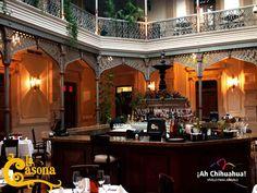 """En el restaurante """"La Casona"""", les brindamos a nuestros comensales la mejor atención y calidad en nuestros platillos, mismos que podrá disfrutar acompañados de un buen vino de nuestra cava. Ubicados en una casona con una arquitectura de gran belleza donde sus muros guardan parte de la historia de la ciudad de Chihuahua. Le invitamos a disfrutar de nuestra exquisita gastronomía. Reserve al teléfono (614) 410 0063 http://www.casona.com.mx/ #visitachihuahua"""