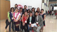 Parte del gruppo dei Social Media Cosi al Web Marketing Festival 2015 di Rimini <3