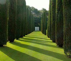 Landscaping and garden design from Karuncho Fernando (Fernando Caruncho).