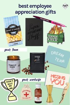 Employee Appreciation Gifts, Employee Gifts, Teacher Appreciation Week, Teacher Gifts, Staff Gifts, Care Package Decorating, Employee Recognition, Recognition Ideas, Good Employee
