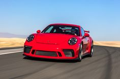 The GT3 and GT3 RS are the only naturally aspirated cars in the 911 lineup, and from the sound of it, that won't change anytime soon.