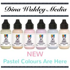 @luluartstore posted to Instagram: Dina Wakley Media - Pastel Colours Are Here. www.luluart.com.au  . . . #luluartstore #artsupplies #mixedmedia #art #supplies #warrnambool #australia #mixedmediaart #southwestartsupplies #paint #draw #acrylic #watercolour #pencils #artjournal #dinawakley #dinawakleymediapaints #pastel #colours #Victoria Pastel Colors, Colours, Art Store, Medium Art, Mixed Media Art, Art Supplies, New Art, Watercolour, Victoria