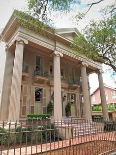 "Belfort Mansion - 2618 St. Charles Avenue - in the Garden District. It was the home for MTV's ""Real World"" in 2000."