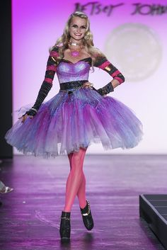 betsey johnson runway | Betsey Johnson Spring/Summer 2016 - New York - Access Runway - Fashion ...