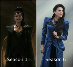 seirously, the evil queen's outfit never seems to fail us