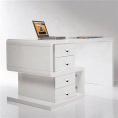 designerskie biurko, nowoczesne biurka do salonu gabinetu lub pokoju pracy… Office Furniture, Office Desk, Filing Cabinet, Designer, Storage, Table, Furnitures, Home Decor, Snake