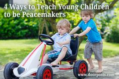 Teaching young children to be peacemakers