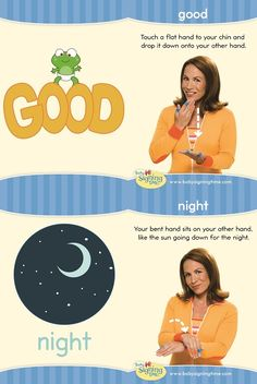 Learn Sign Language » Sign of the Week – Good Night