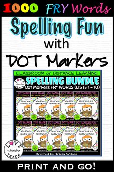 Spelling And Handwriting, Spelling Words, Sight Words, Spelling Ideas, Spelling Centers, Spelling Activities, Fry Words, Learn To Spell, Information And Communications Technology