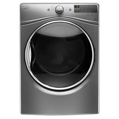 Whirlpool 7.4-cu ft Stackable Gas Dryer Steam Cycle (Chrome Shadow)
