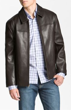 Cole Haan Leather Jacket | Nordstrom (sale $459.90)