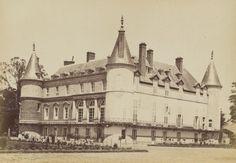 1887 - Le Château de Rambouillet. Seine-et-Oise. Photographe : James Jackson
