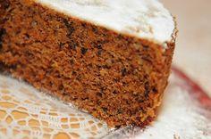 Cenoura e nozes? A combinação perfeita! (A)Prove este bolo…