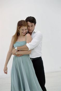 Still of Dermot Mulroney and Debra Messing in The Wedding Date