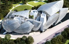Louis-Vuitton Foundation for Creation / Frank Gehry