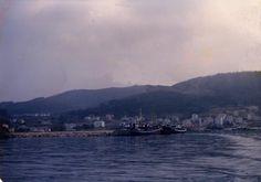 Panorámica do porto do Vicedo