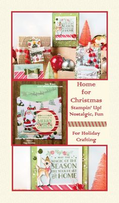 A Favorite!  The Home for Christmas Product Suite from Stampin' Up! www.inkandinspirations.com