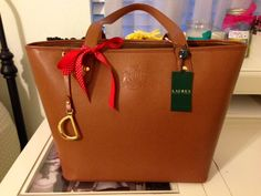 Brown Ralph Lauren Bag