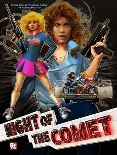night of the comet movie poster art 80s Movie Posters, Movie Poster Art, Movie Tv, Scary Movies, Great Movies, Comet Movie, Movie Covers, Alternative Movie Posters, Fantasy Movies