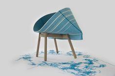 Yael Mer y Shay Alkalay con su estudio Raw Edges en sus proyectos siempre enfatizan con las cualidades estructurales de las telas con el...