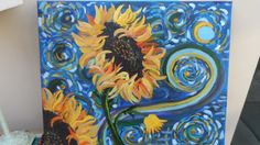 Sunflowers by Bea from tutorial Cinnamon Cooney
