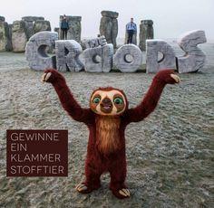 Klammer Gewinnspiel The Croods - Vor kurzem gab es auf meinem Blog ein The Croods Package zu gewinnen, bei dem unter anderem das Faultier Klammer dabei war. Dieses kleine Stofftier, das folgendes durch Drücken auf seinem Bauch singt: Da da daaaa, kam bei euch so gut an, dass ich sehr viele Mails und... - http://www.vickyliebtdich.at/klammer-gewinnspiel/
