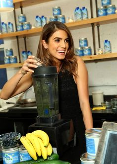 Nikki Reed's coconut water green smoothie recipe